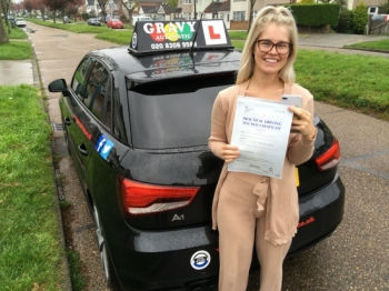 Learning with Gravy has made me such a confident driver. My strengths and weaknesses were identified and I passed with two minors! I can´t wait to do the Pass Plus.