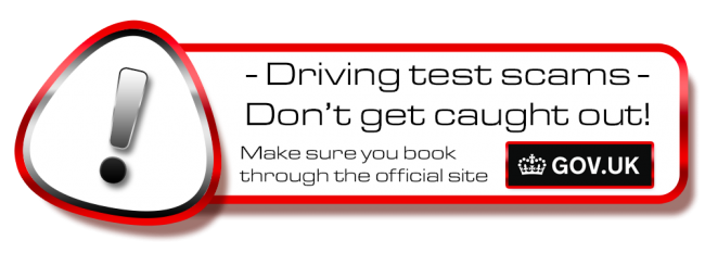 Don´t get scammed! book your theory or driving test in Barnehurst on the .gov site